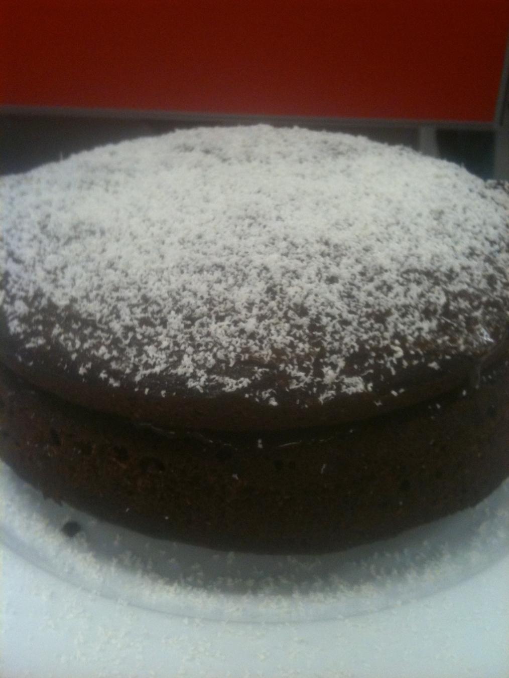 Donna Hay Melt Mix Chocolate Coconut Cake