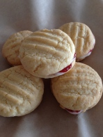 Home-made Monte Carlo biscuits / cookies