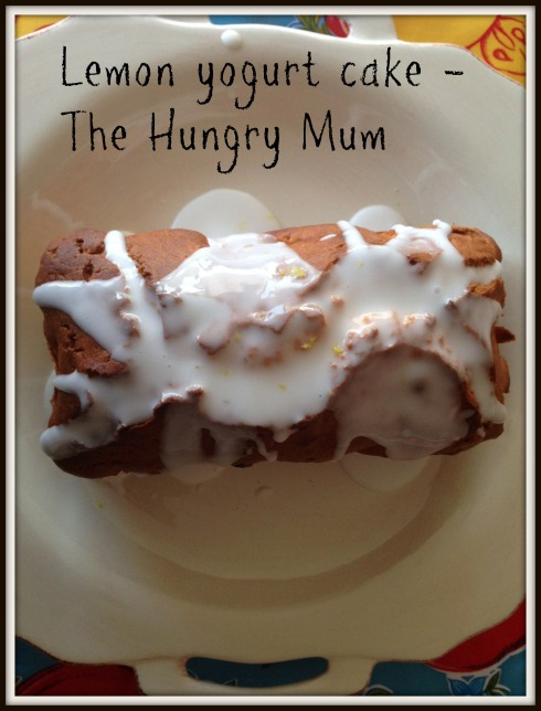 lemon yogurt cake - The Hungry Mum