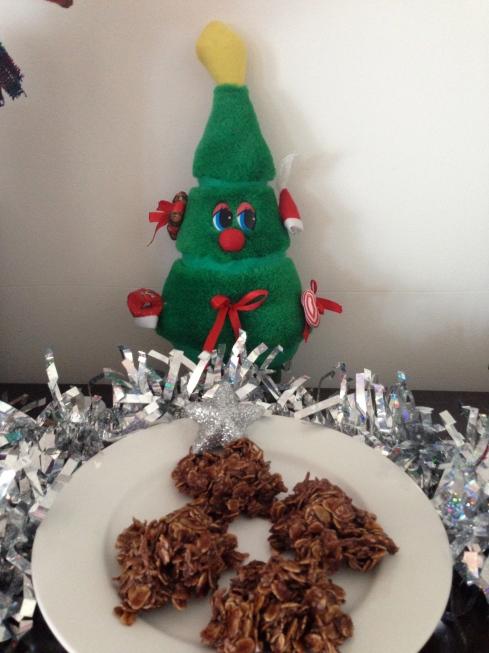 how to make christmas chocolate crackles