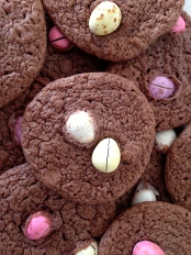 Easter brownie cookies