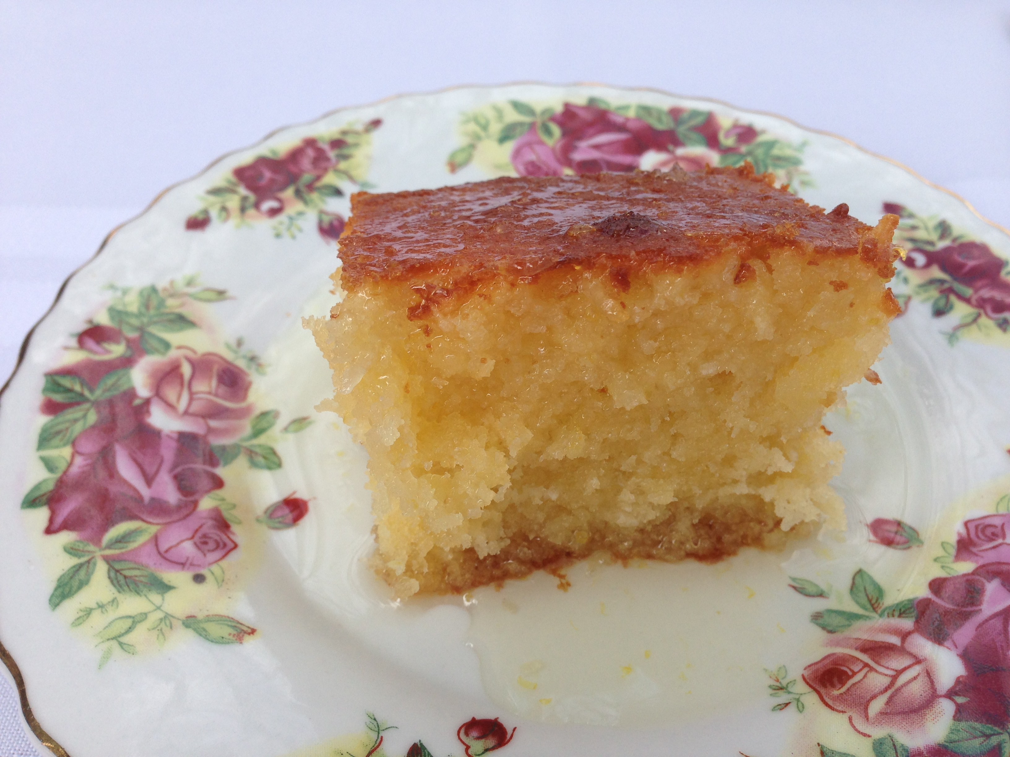 Donna Hay Lemon Syrup And Coconut Cake