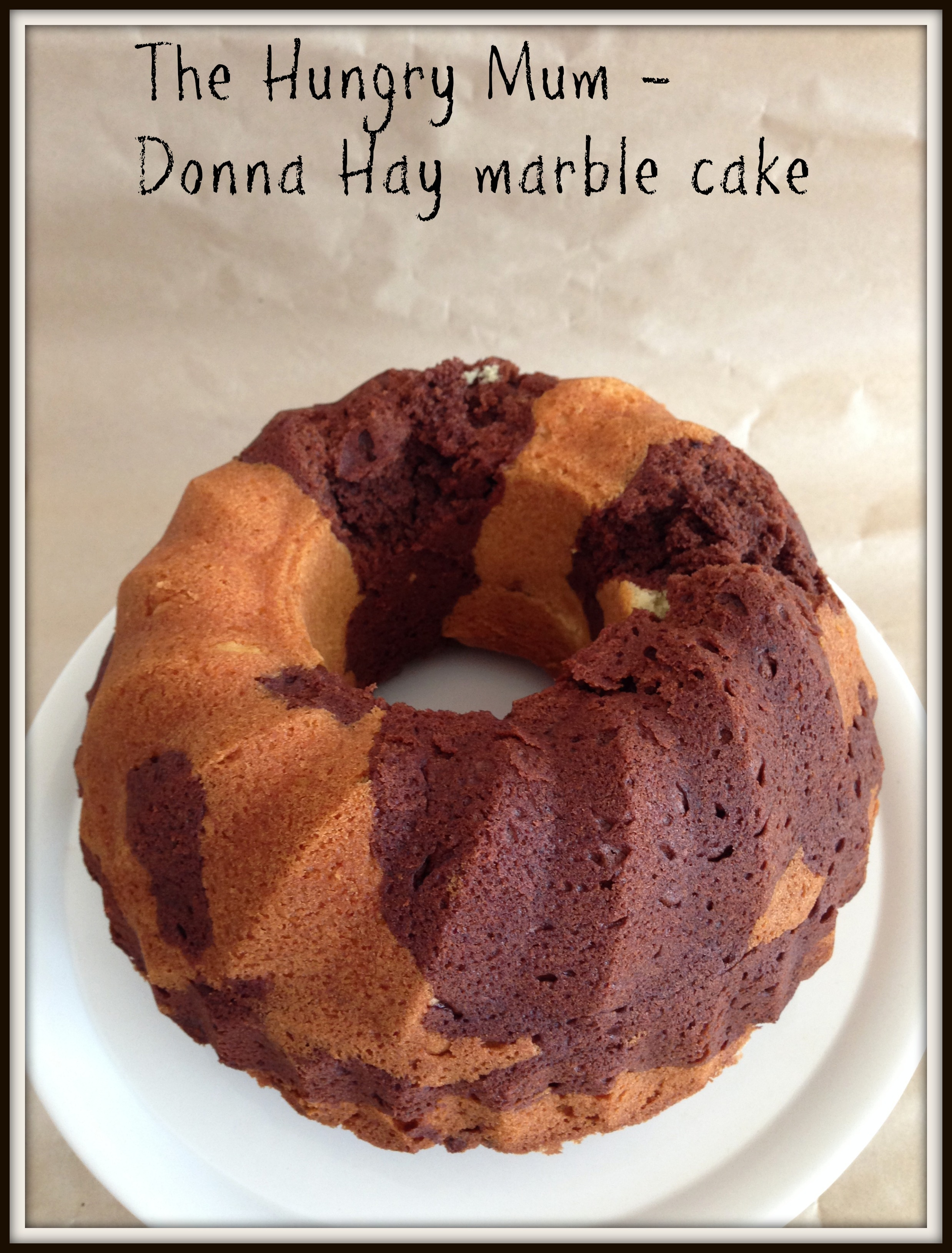 Marble Cake Donna Hay