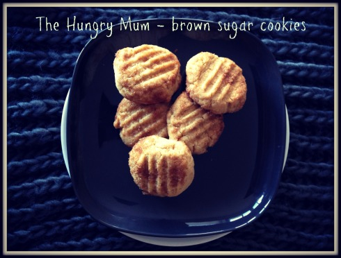 brown sugar cookies 1