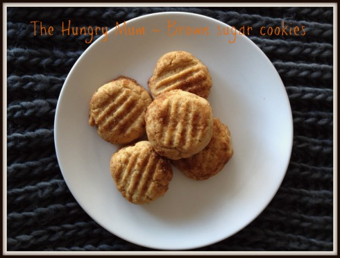 brown sugar cookies 3