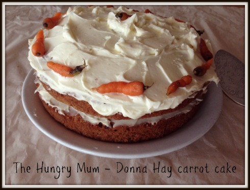 The Hungry Mum - Donna Hay Carrot Cake 1