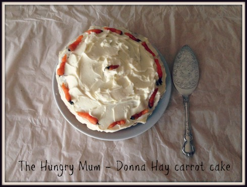 The Hungry Mum - Donna Hay carrot cake 2