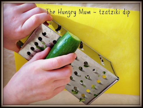 The Hungry Mum - tzatziki 3