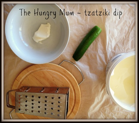 The Hungry Mum - tzatziki2