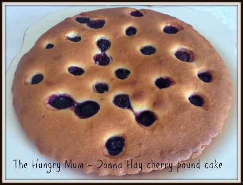 IThe Hungry Mum - Donna Hay cherry & cardamom pound cake
