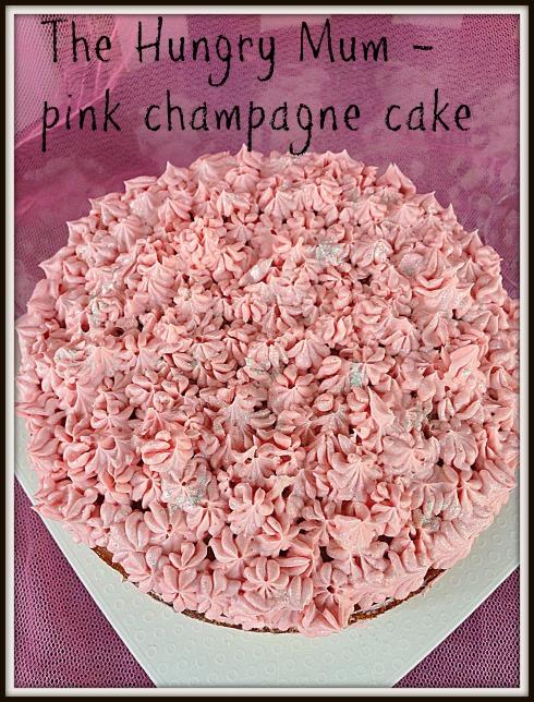 pink champagne cake recipe from scratch