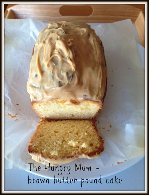 Brown butter pound cake  The Hungry Mum