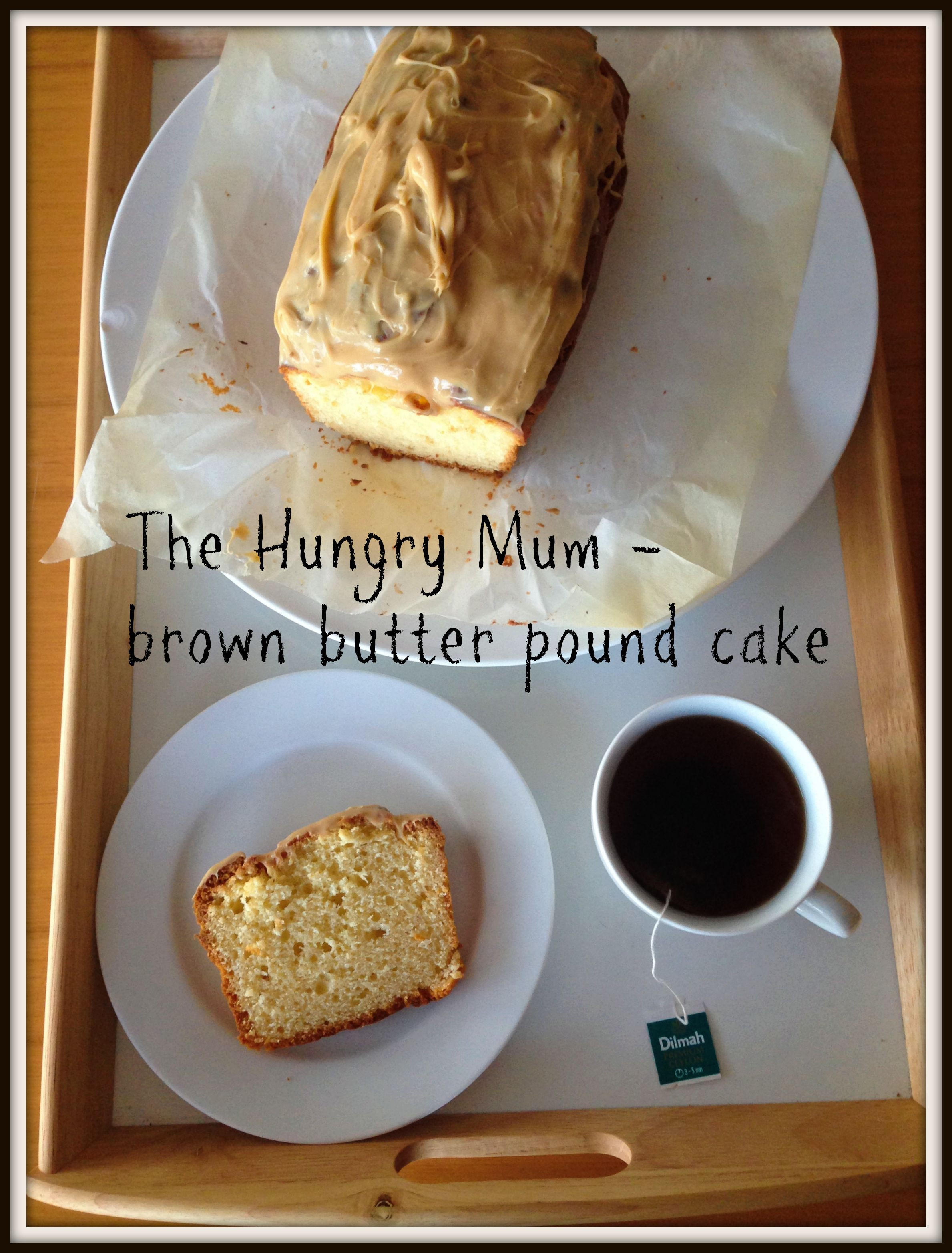 Donna Hay brown butter pound cake | the hungry mum