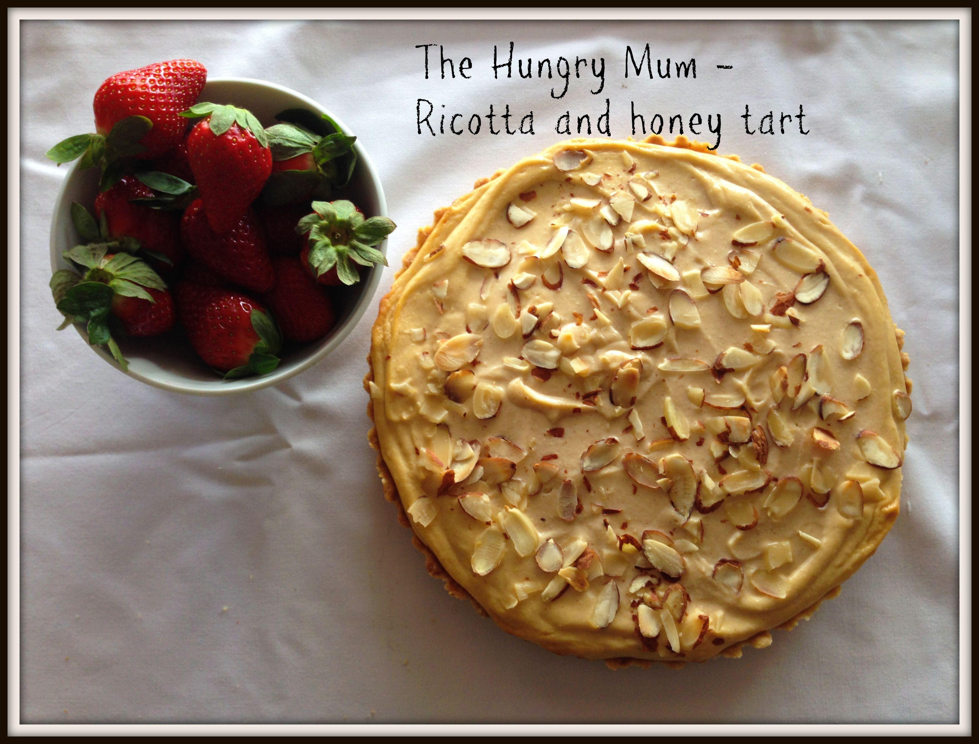 Ricotta and honey tart – a perfect dessert recipe | the hungry mum