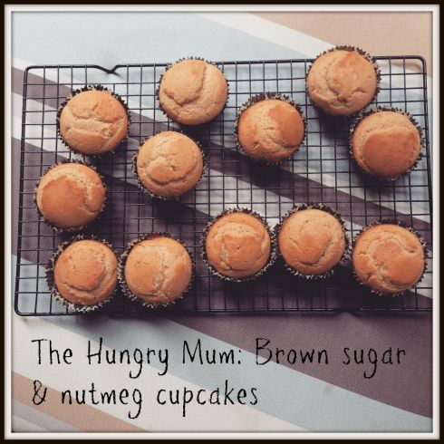 Brown sugar and nutmeg cupcakes