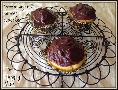 Brown sugar & nutmeg cupcakes. The Hungry Mum