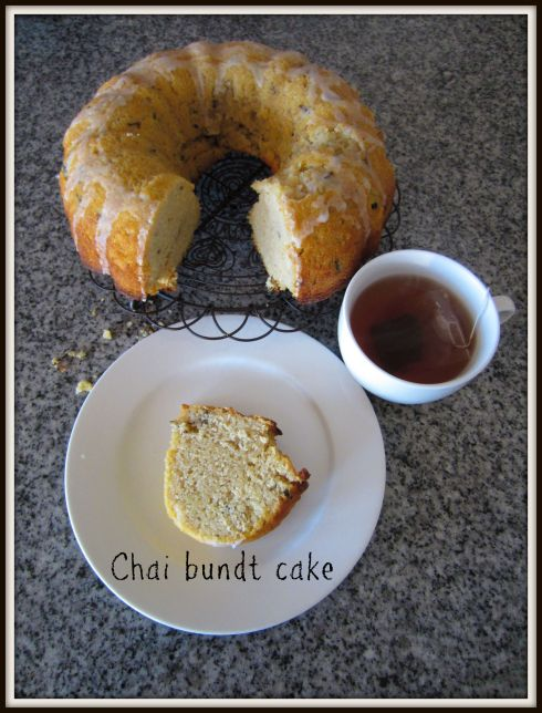 Chai bundt cake The Hungry Mum