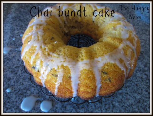 Chai bundt cake. The Hungry Mum