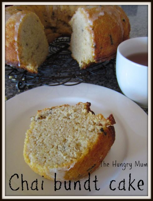 Chai bundt cake - The Hungry Mum