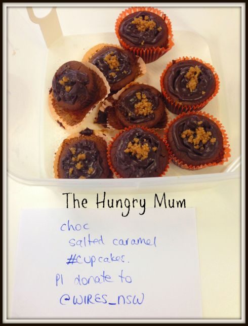 Chocolate salted caramel cupcakes The Hungry Mum