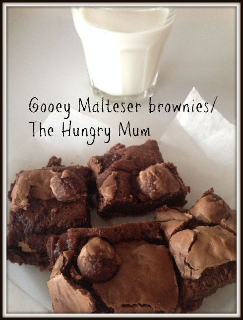 Gooey Malteser brownies The Hungry Mum