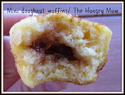 Mini doughnut muffins The Hungry Mum.