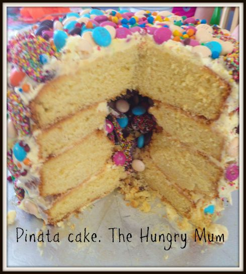 Pinata cake - The Hungry Mum copy