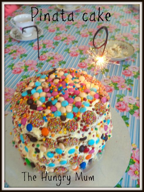 Pinata cake  The Hungry Mum