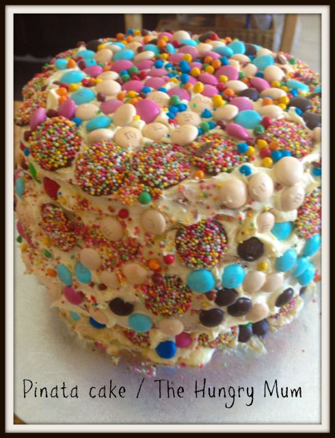 pinata cake - The Hungry Mum