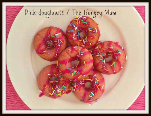 Pink doughnuts The Hungry Mum