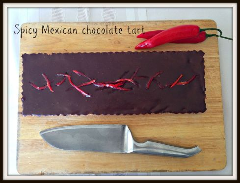 Spicy Mexican chocolate tart - The Hungry Mum