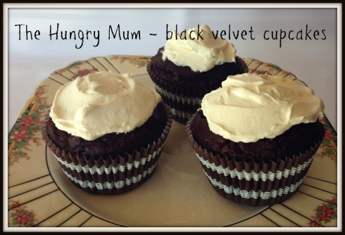black velvet cupcakes The Hungry Mum