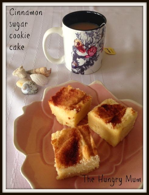 Cinnamon sugar cookie  cake