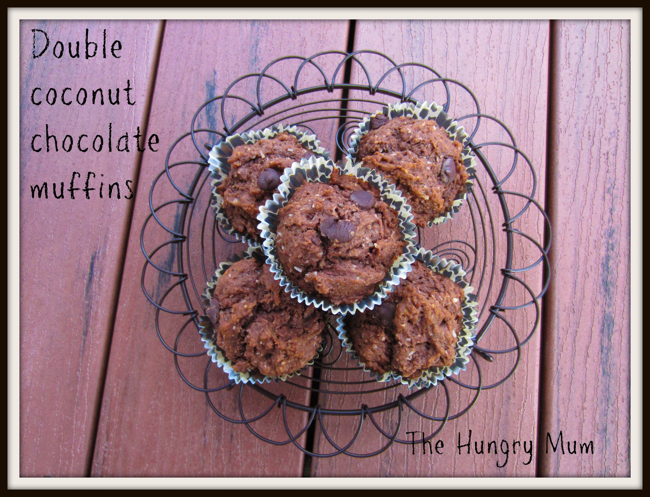 Donna Hay chocolate and double coconut muffins | the hungry mum