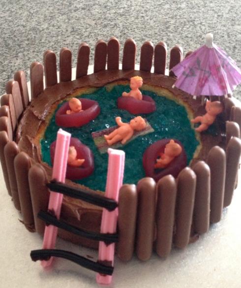 Australian Women S Weekly Swimming Pool Cake The Hungry Mum