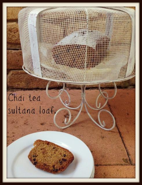 Sultana loaf cake