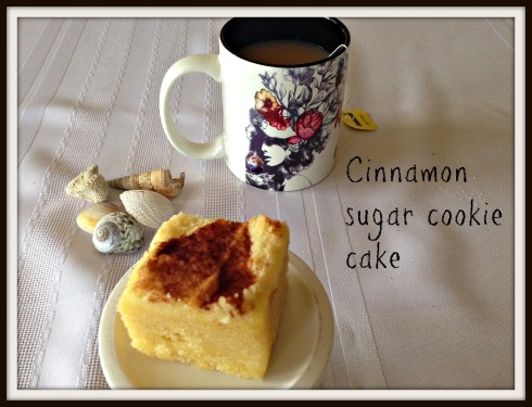 The Hungry Mum  Cinnamon  sugar  cookie  cake