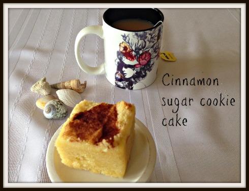 The Hungry Mum  Cinnamon  sugar  cookie  cake