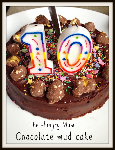 Chocolate mud cake The Hungry Mum