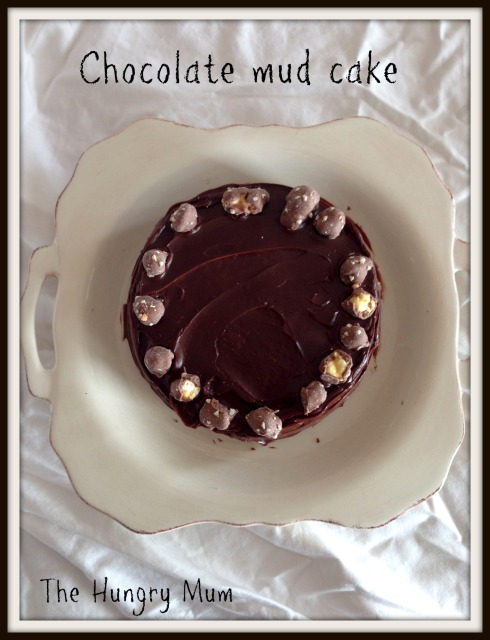 Chocolate mud cake -The Hungry Mum