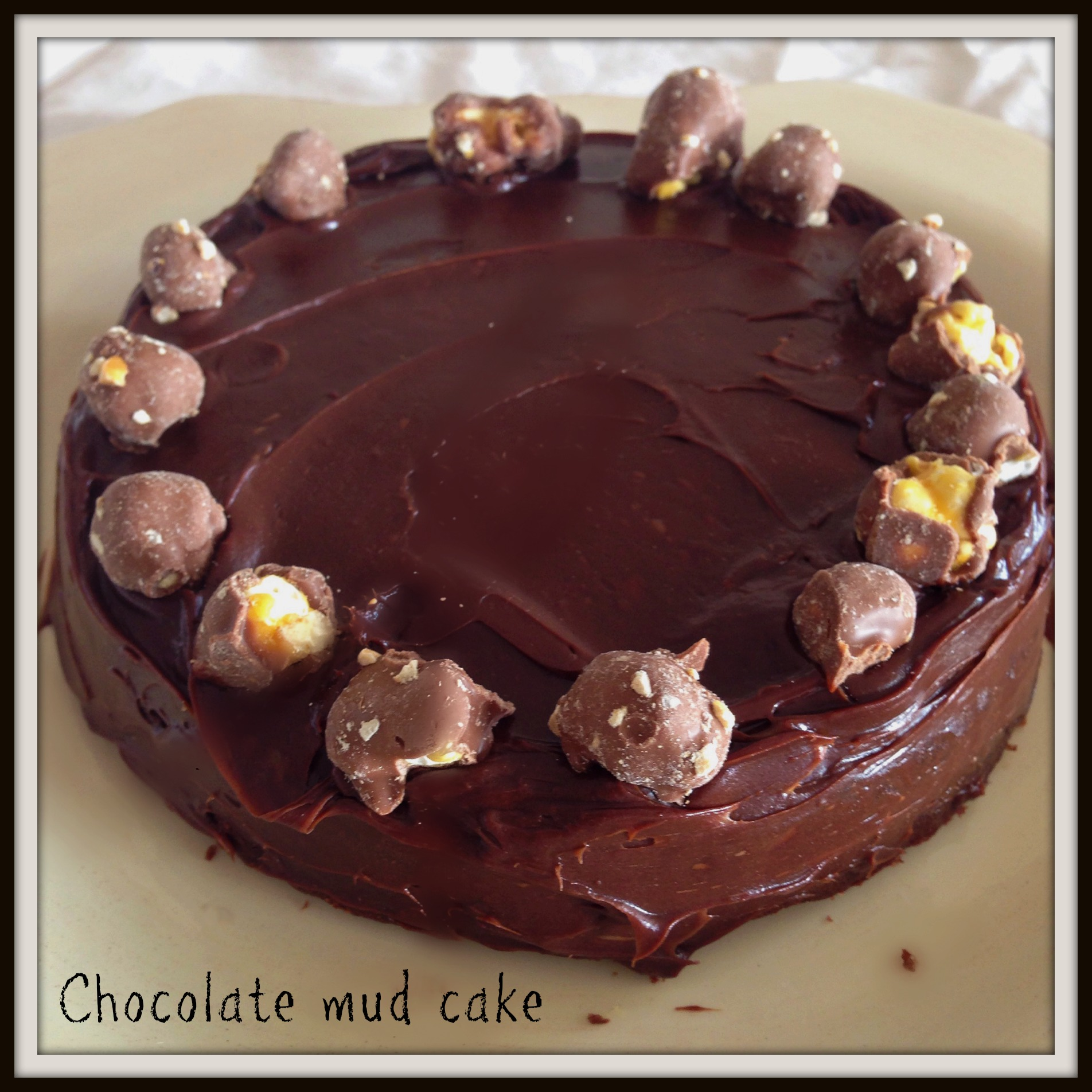 Chocolate Mud Cake From Scratch Recipe The Hungry Mum