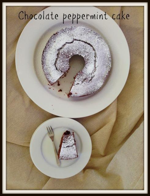 Chocolate peppermint cake recipe. The Hungry Mum
