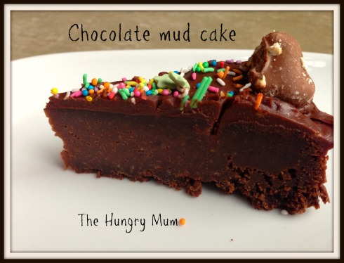 The Hungry Mum - Chocolate mud cake