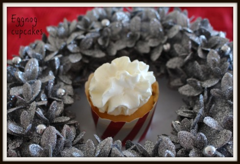 eggnog cupcakes - The Hungry Mum