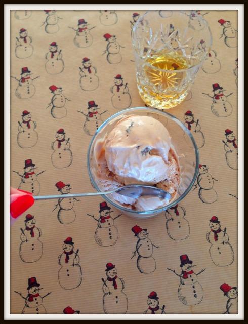 rum raisin ice cream - The hungry Mum