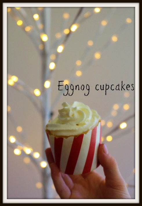 The Hungry Mum - Eggnog cupcakes