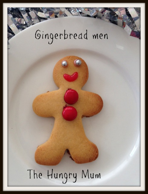 The HUngry Mum - Gingerbread men