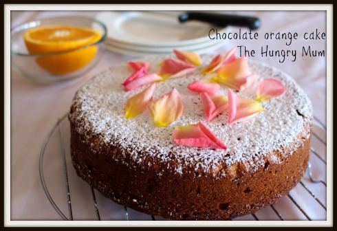 Chocolate orange cake - The Hungry Mum