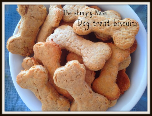 Dog treat biscuits