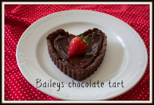 Baileys chocolate tart - The Hungry Mum